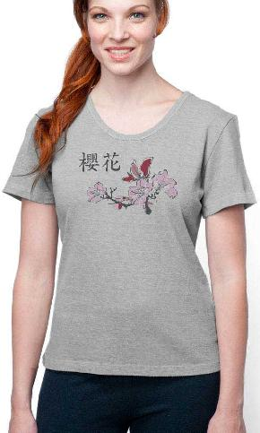 Asian Cherry on Festival Tee